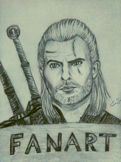 Henry Cavill, The Witcher, fanart
